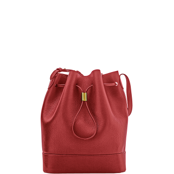 Elise Bucket Bag Haute Red