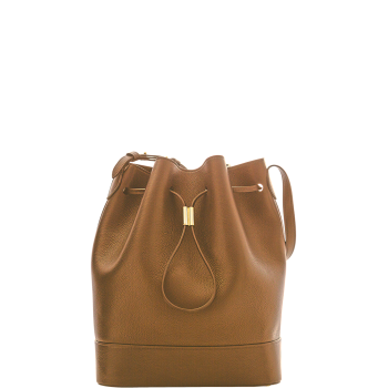 Elise Bucket Bag Tan