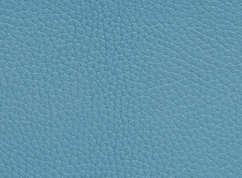Grained Bullcalf Leather Sky