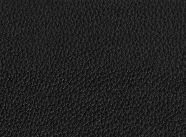 Grained Bullcalf Leather Black